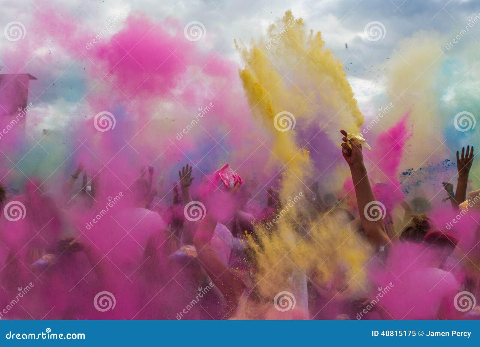 Festival dei colori, India di Holi