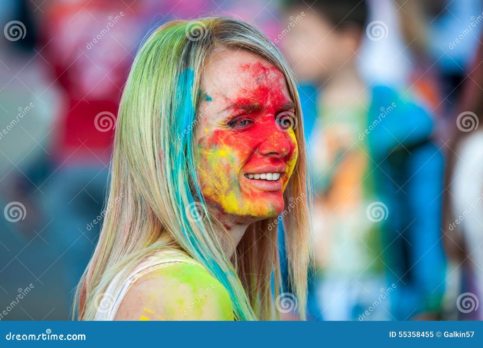 Festival del holi della pittura