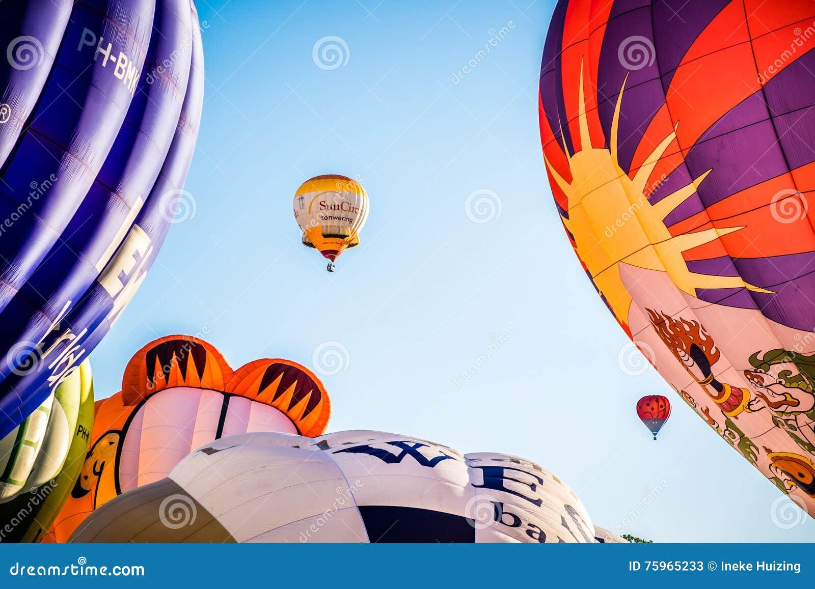 Festival della mongolfiera, Barneveld, Paesi Bassi