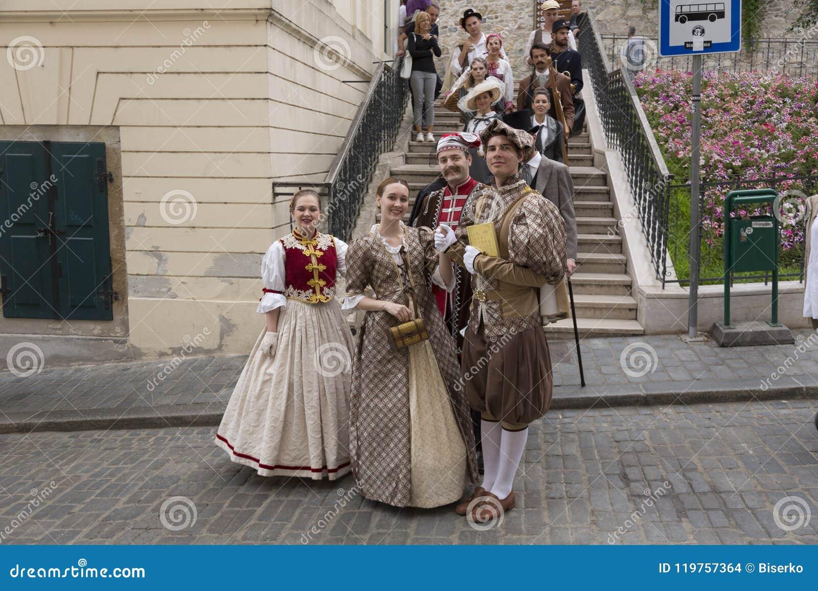 Festival der alten Kostüme