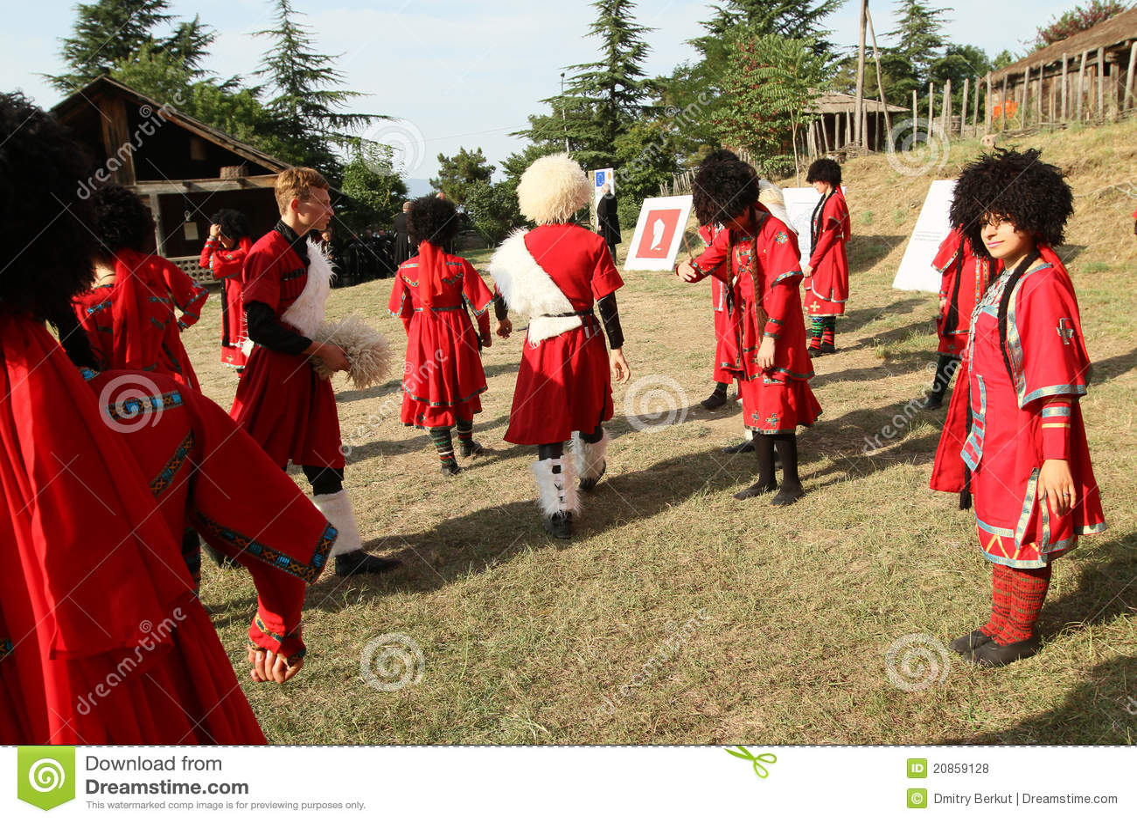 Festival georgiano del gene del arte popular