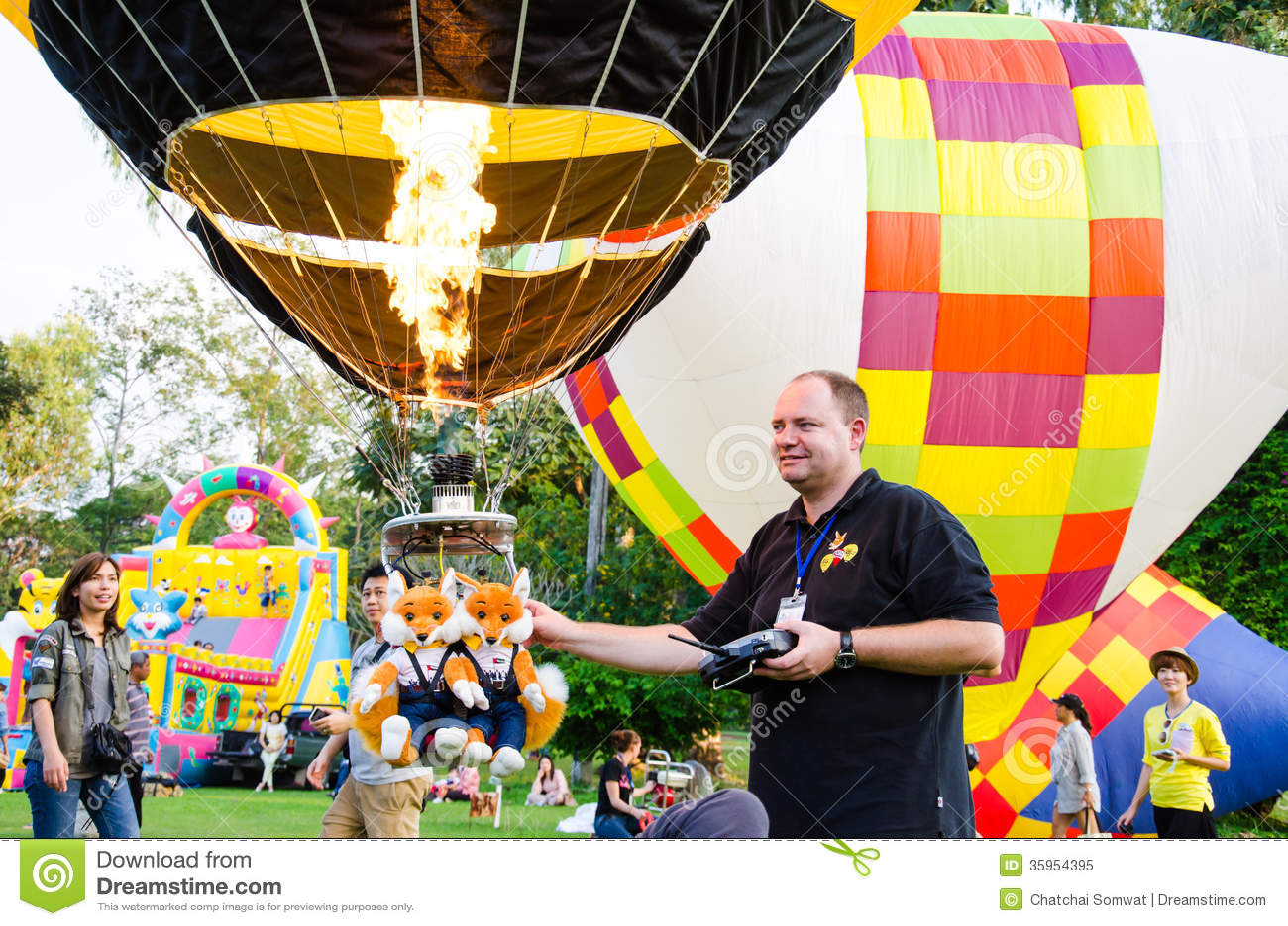 Festival internacional 2013 del globo de Tailandia
