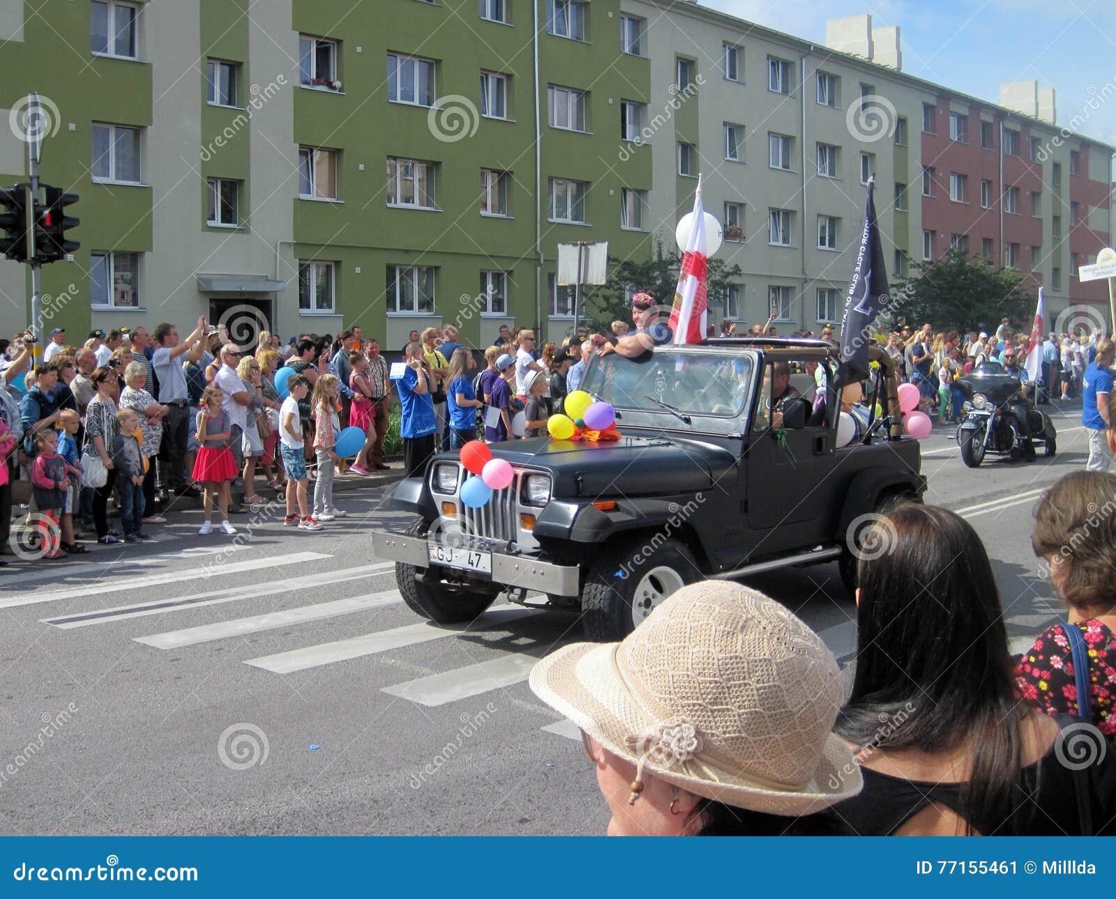 Festival 2016, Lettonie de fleur de ville de Ventspils
