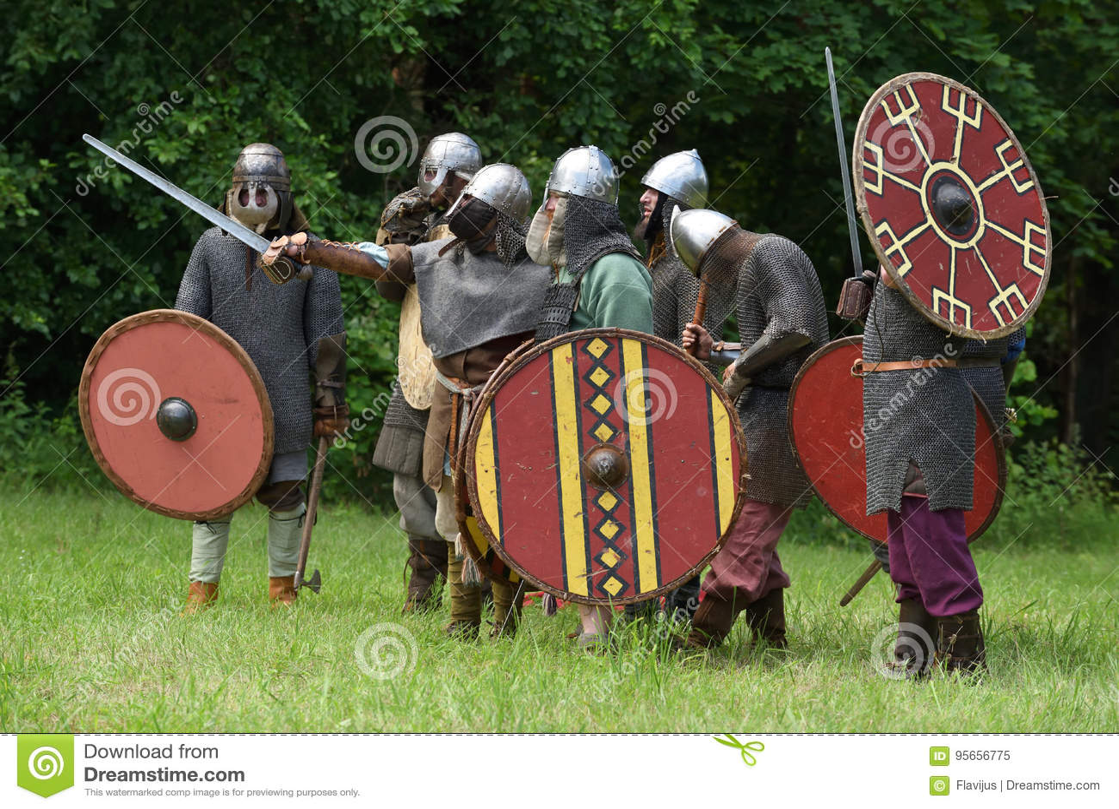 Festival medieval das lutas