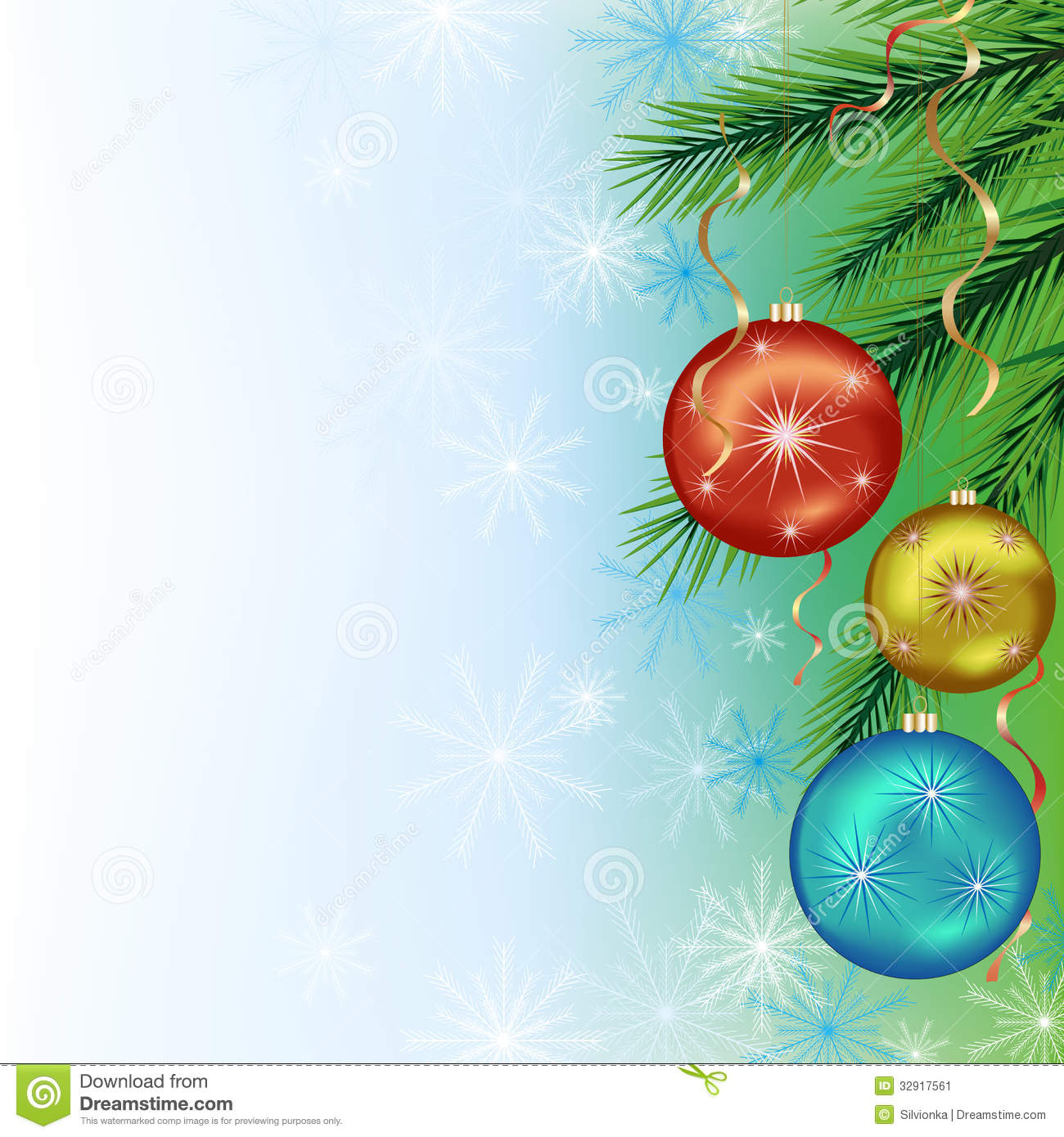 Festive background for new year and christmas stock vector for Background decoration images