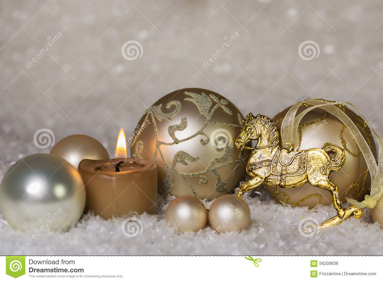 download festive classical christmas decoration in white and gold with ho stock photo image of