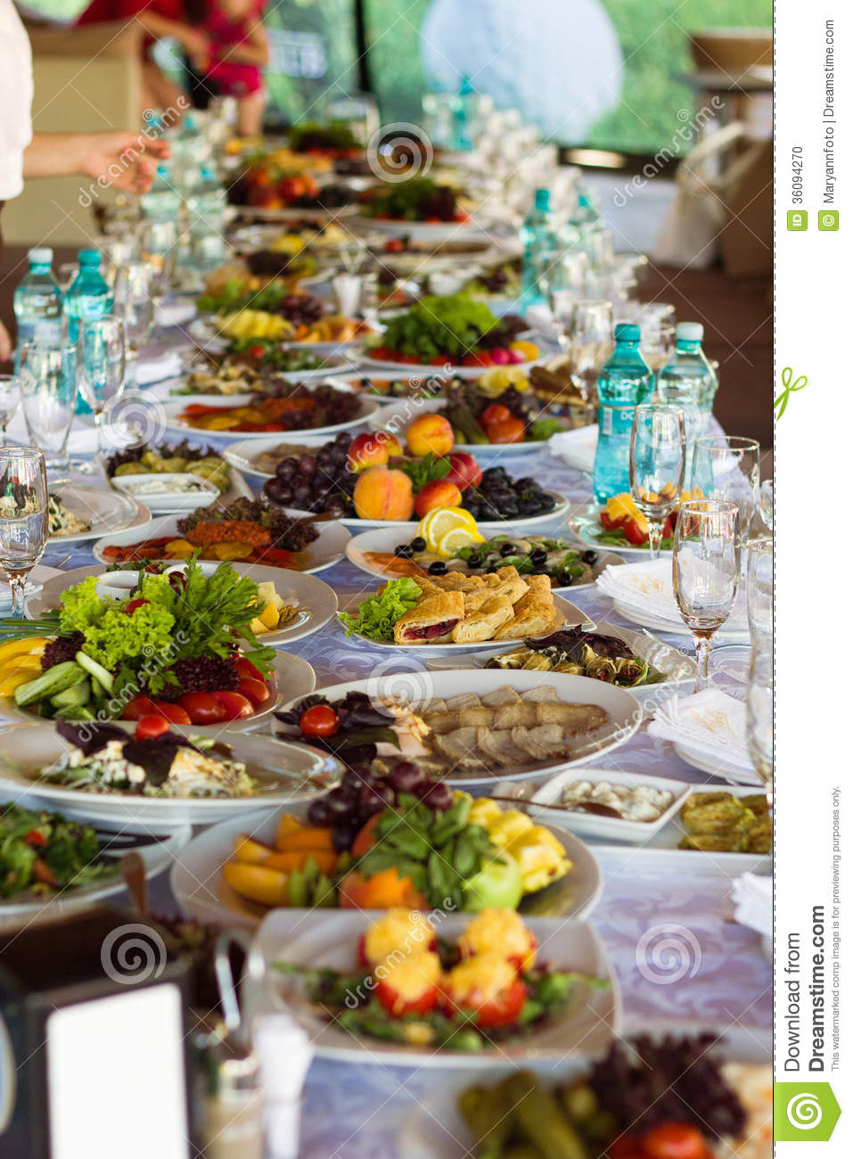 Festive Food Stock Photo Image 36094270 : festive food beautifully banquet table 36094270 from www.dreamstime.com size 957 x 1300 jpeg 196kB