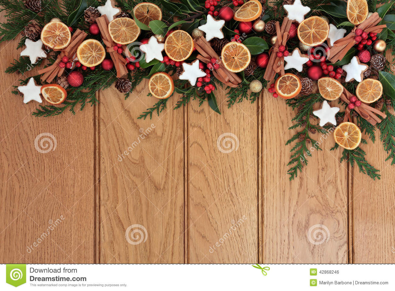 Festive Food Border Stock Photo Image Of Abstract Dried 42868246