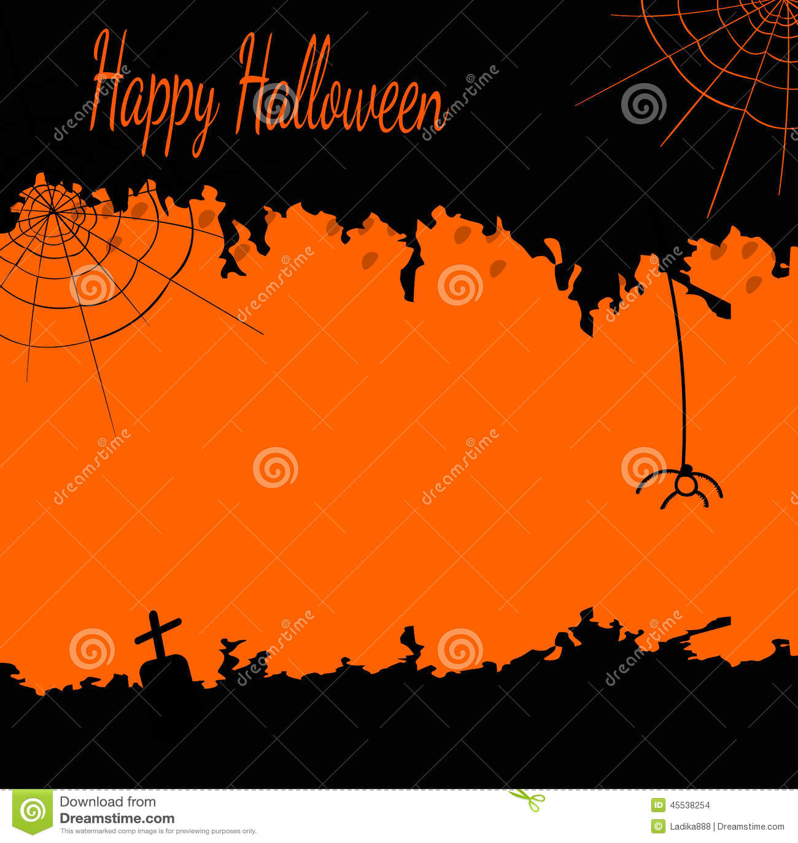 black design festive halloween orange - Black And Orange Halloween
