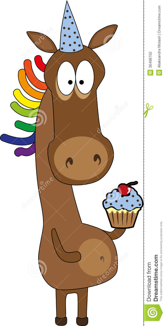 Festive Horse Stock Photo Image Of Cake Horse Cream