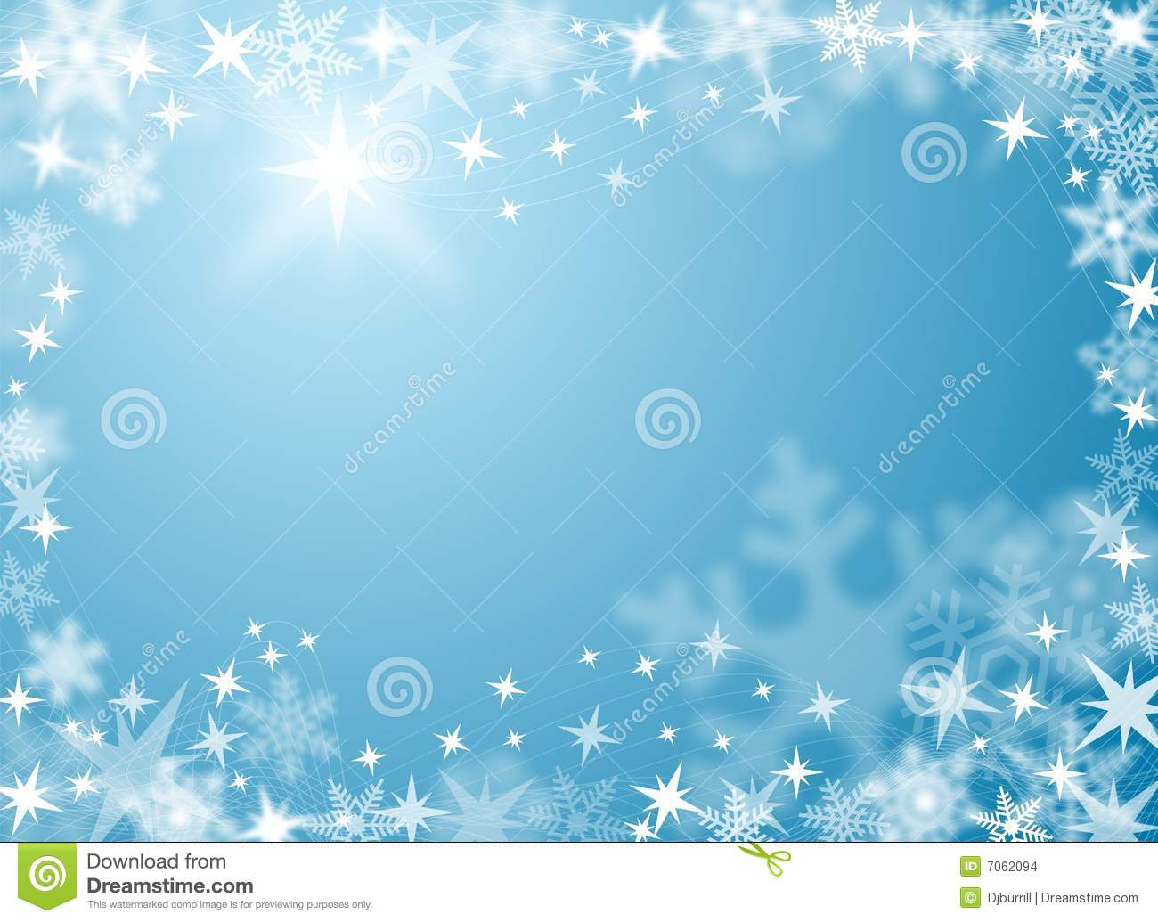 Festive Snow And Ice Background Stock Images - Image: 7062094