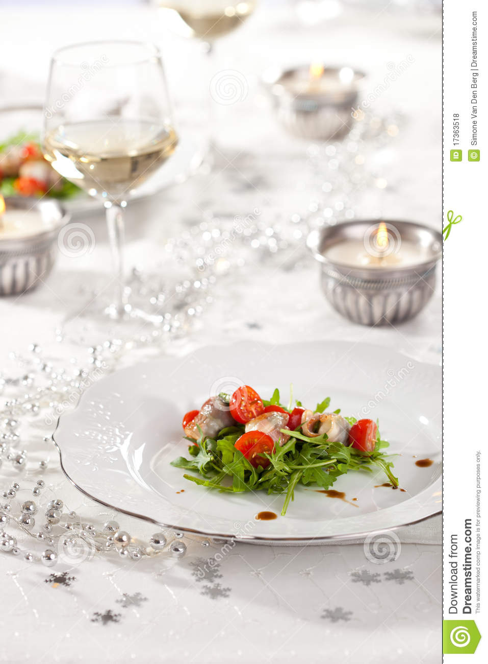 Festive table stock photo. Image of holiday, table ...
