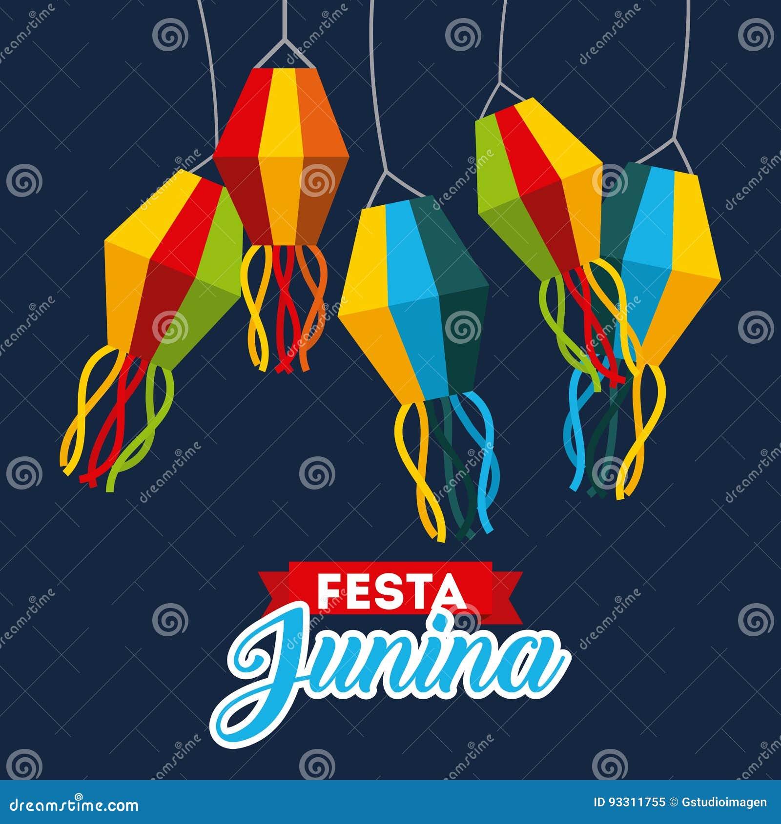 Festivity june illustration
