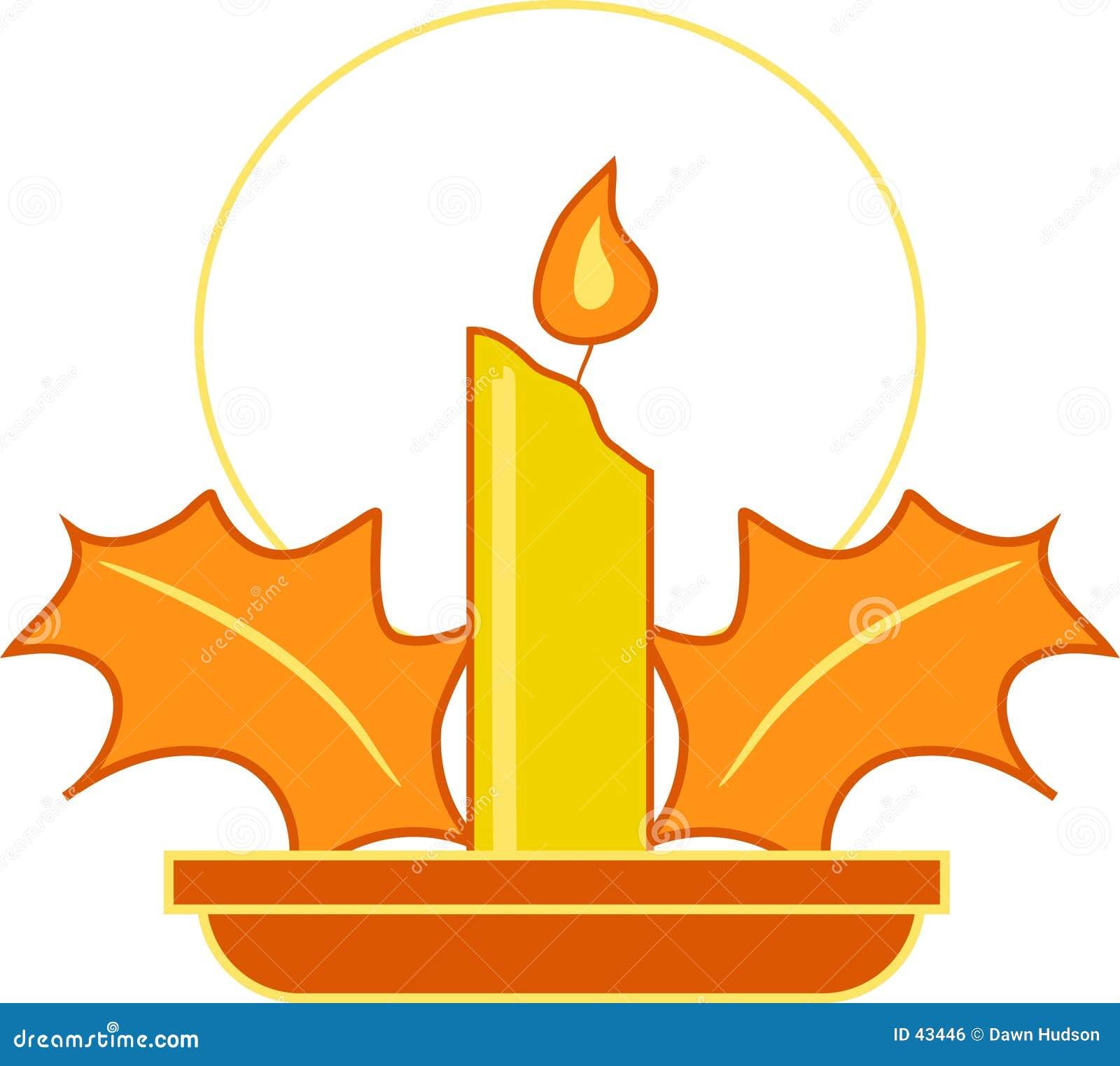 Festliche Kerze
