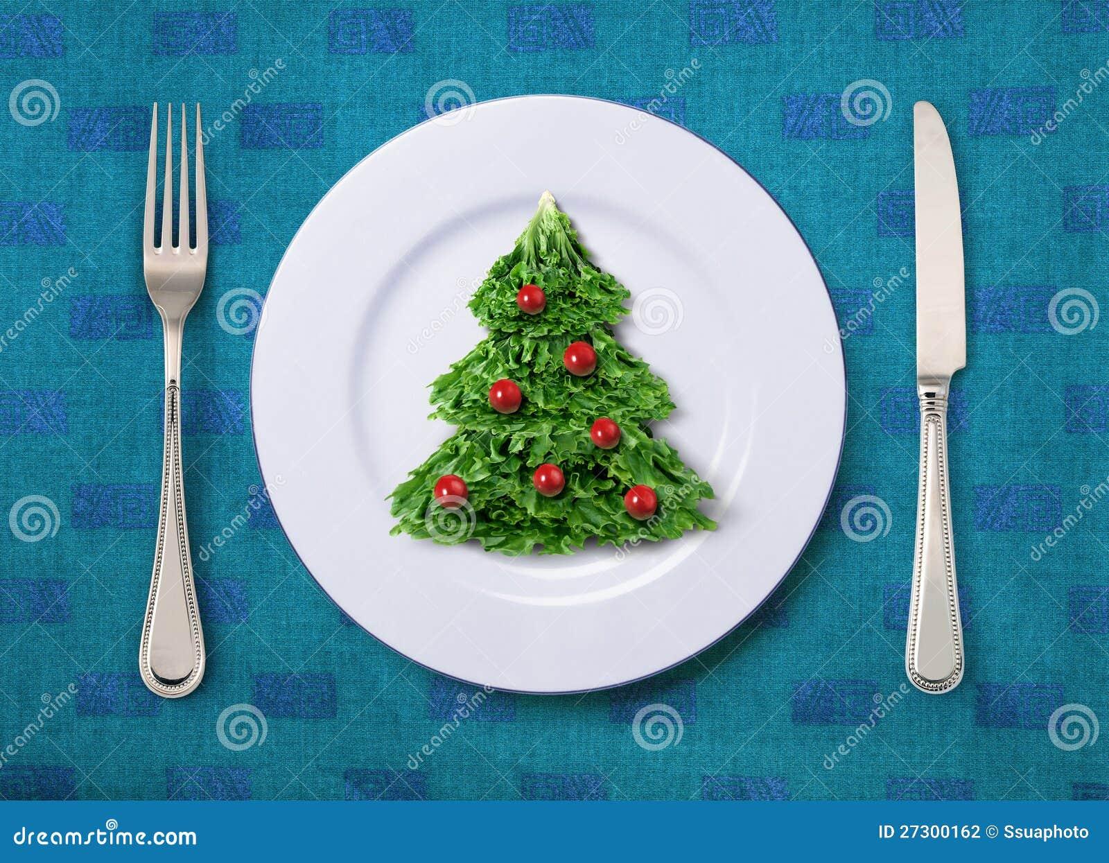 Festlicher Salat stockfoto. Bild von mittagessen, gabel - 27300162