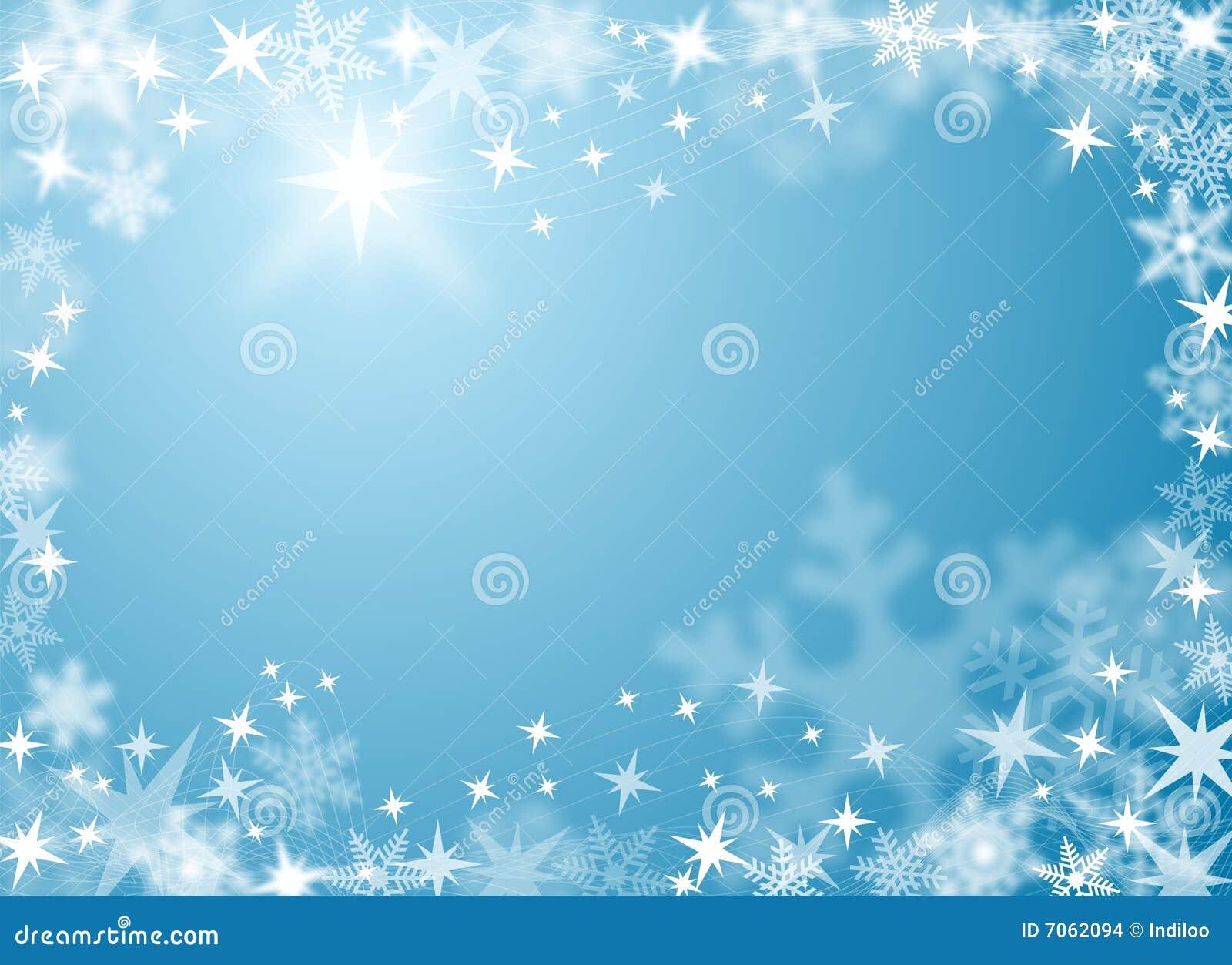 Festlicher Schnee-und Eis-Hintergrund