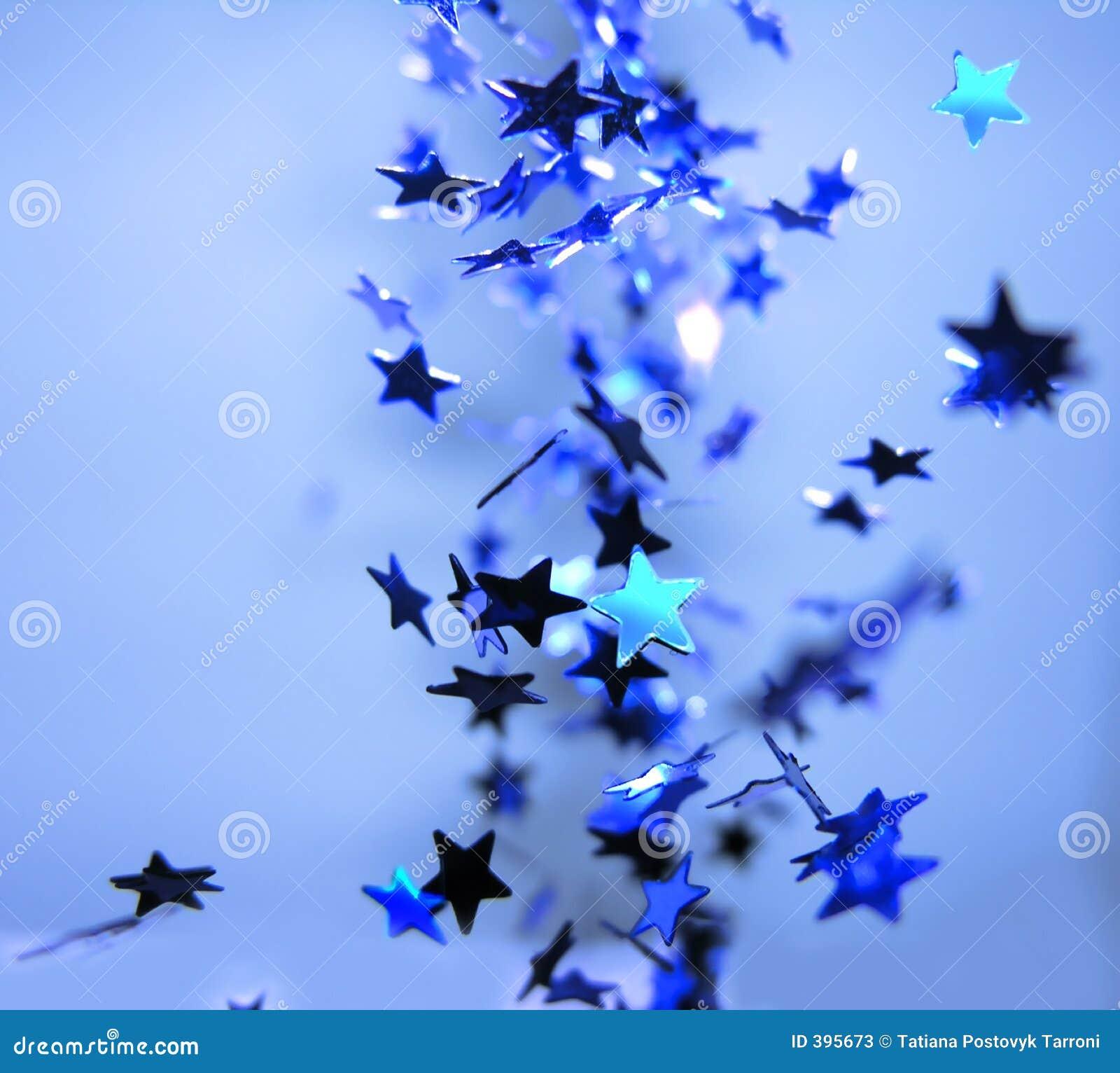 Festlig stjärna för beröm