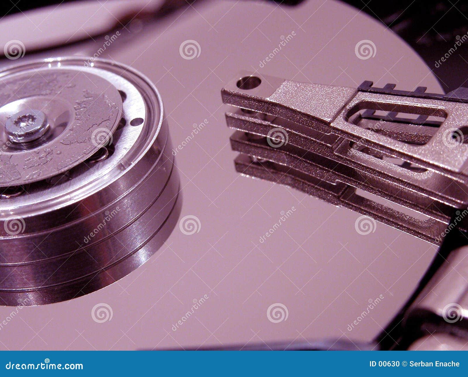 Festplatte öffnete sich