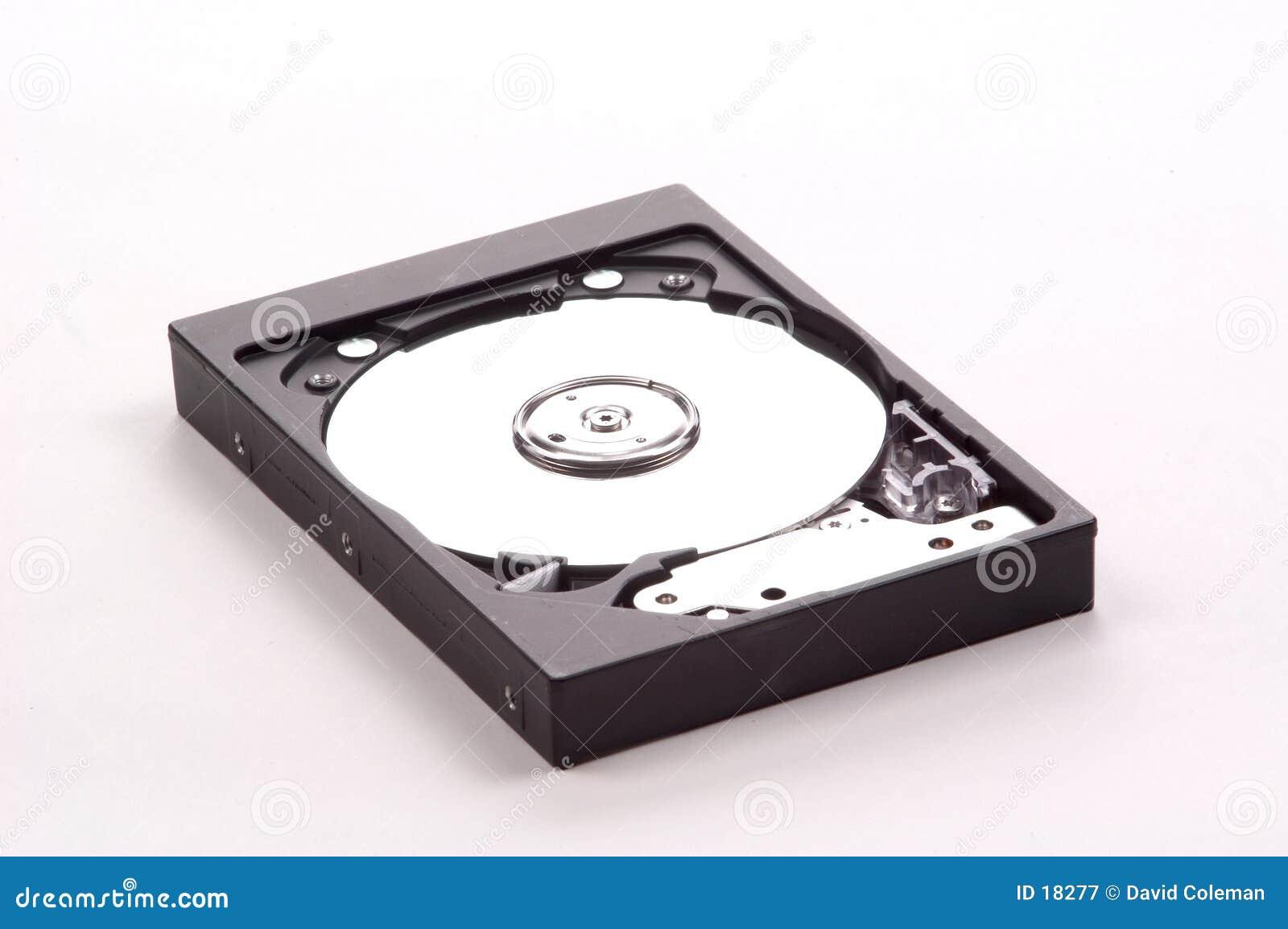 Festplattenlaufwerk herausgestellt