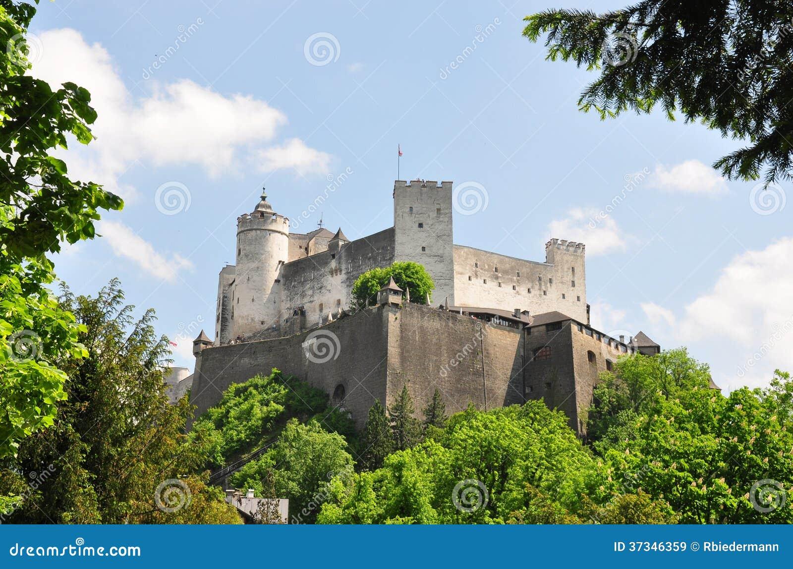 Festung Hohensalzburg i Salzburg