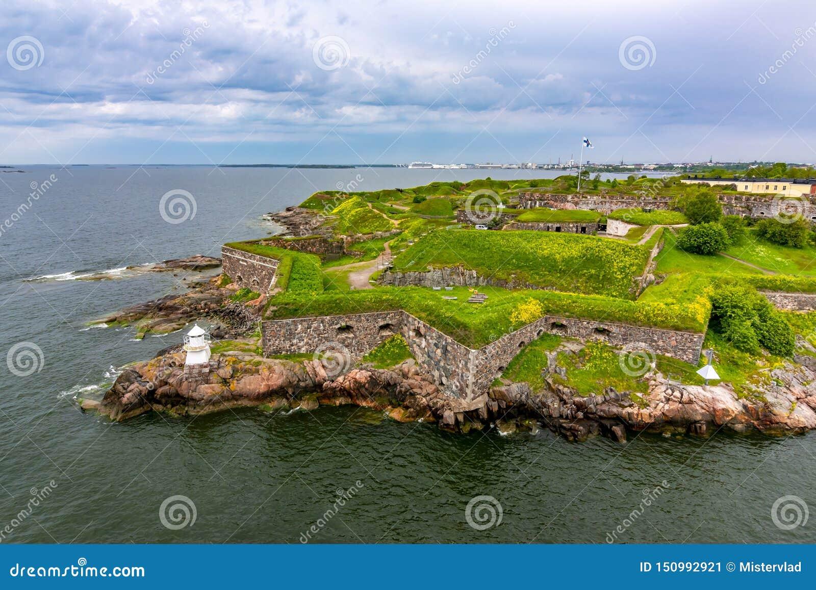 Festung von Suomenlinna nahe Helsinki, Finnland
