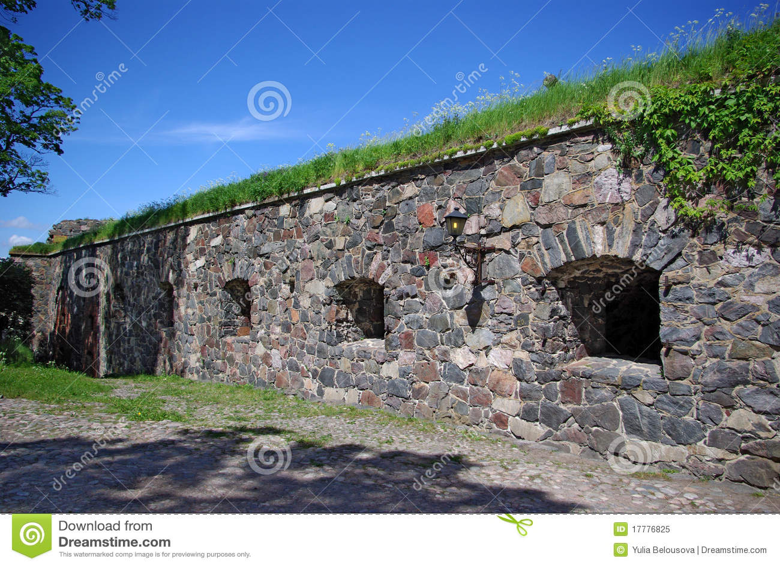 Festungswand