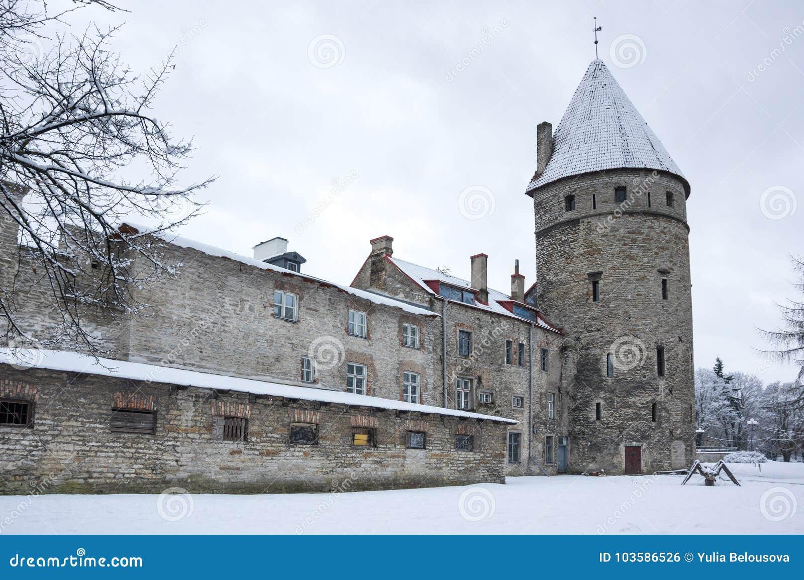 Festungswand von Tallinn