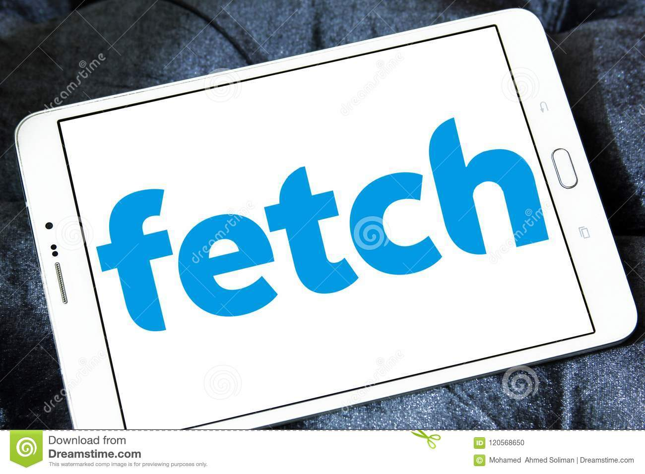 Fetch TV logo editorial image  Image of fetch, mobile - 120568650