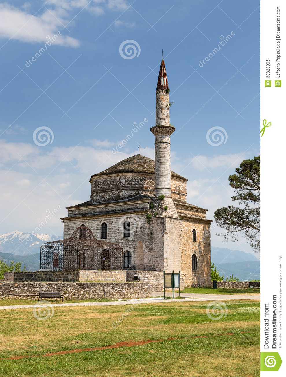 Fethiye Mosque With The Tomb Of Ali Pasha In The