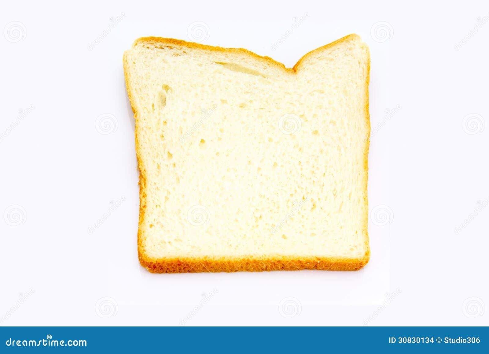 Fetta del pane bianco
