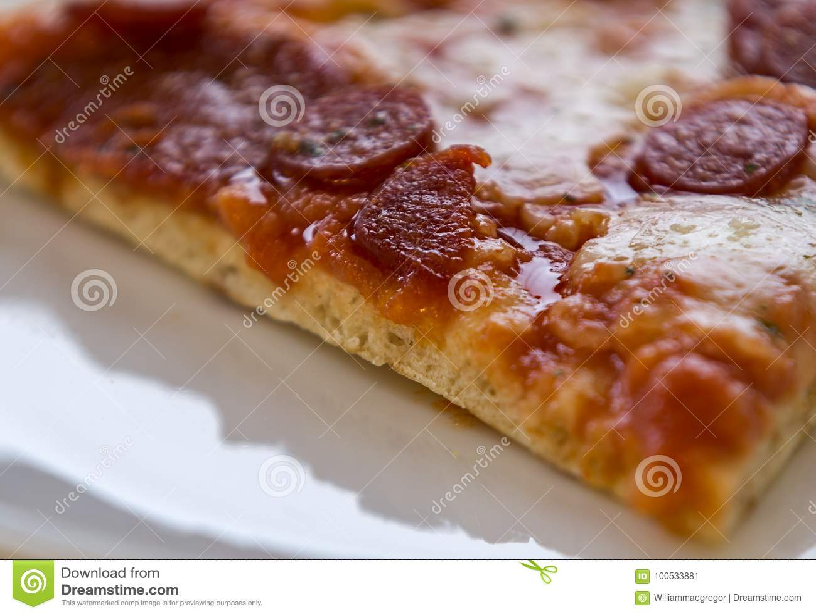 Fetta della pizza