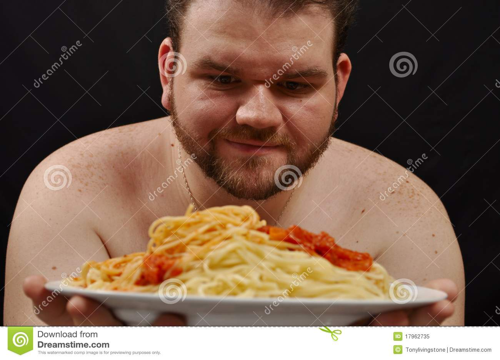 Fetter Kerl Ist Von Den Füßen Eines Luders Besessen