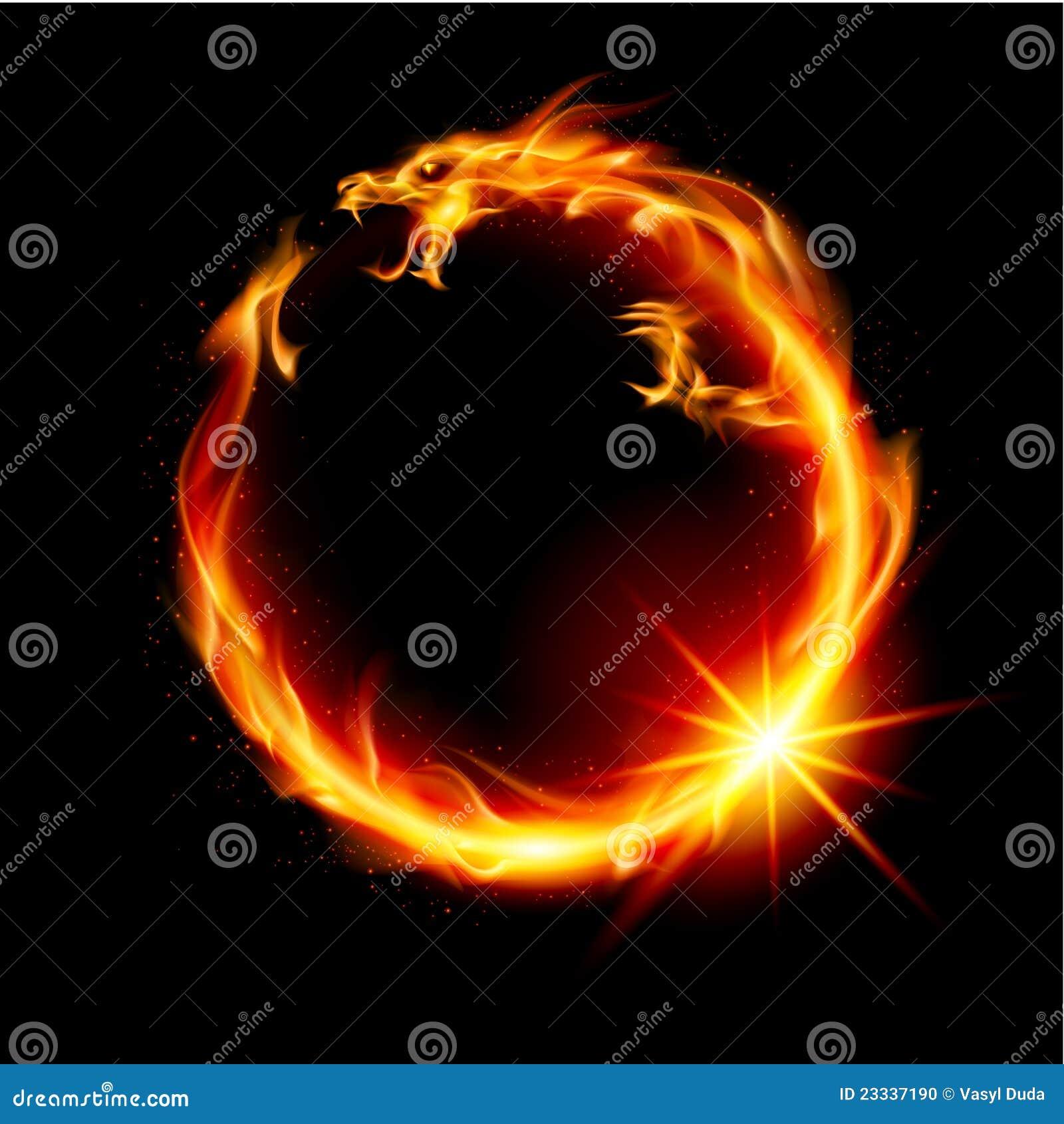 Feuer Drache