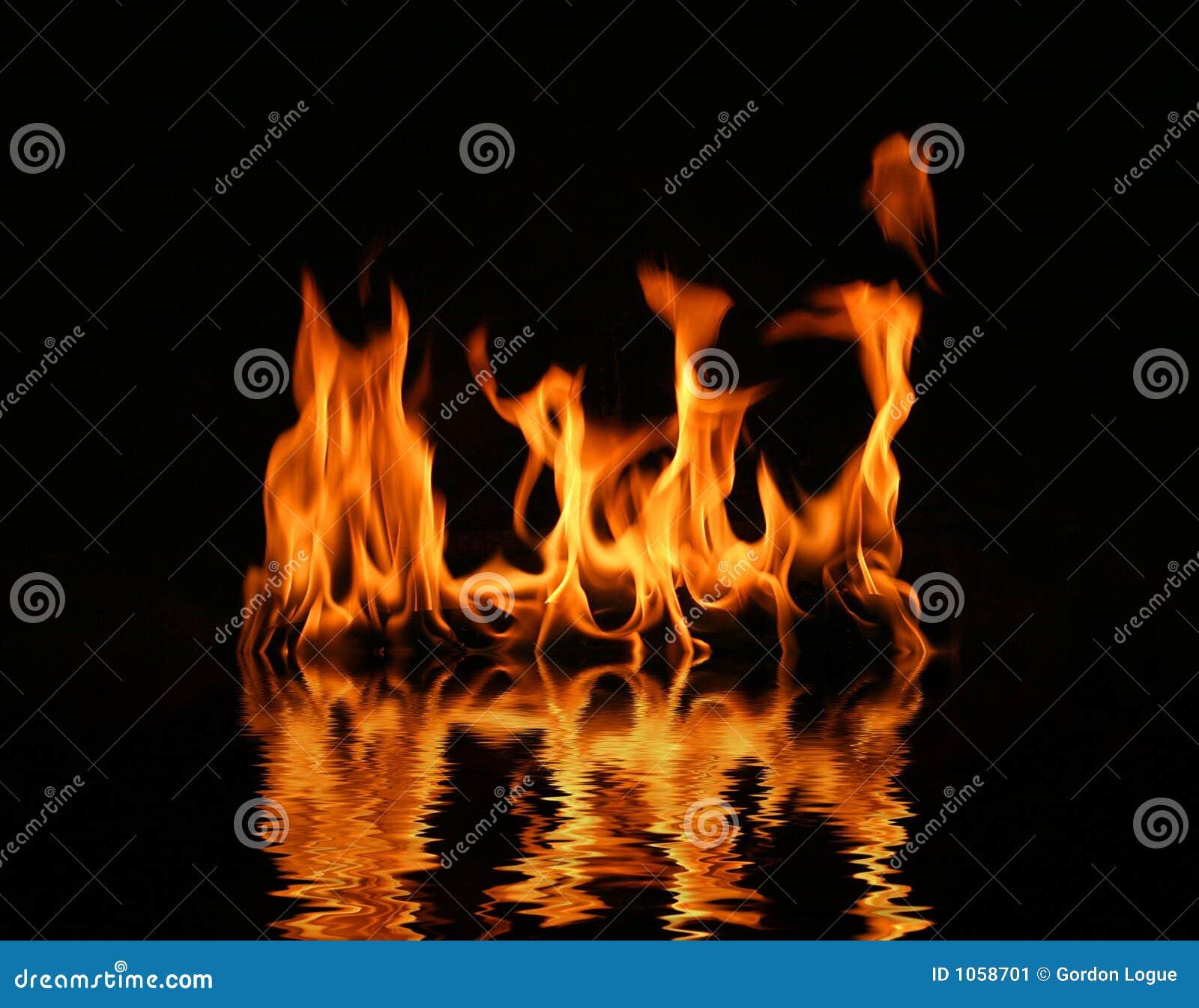 Feuerprotokollflamme