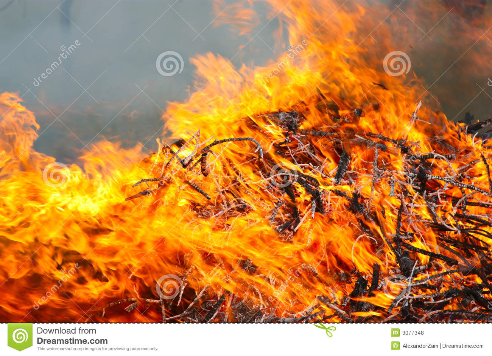 Feuersbrunst