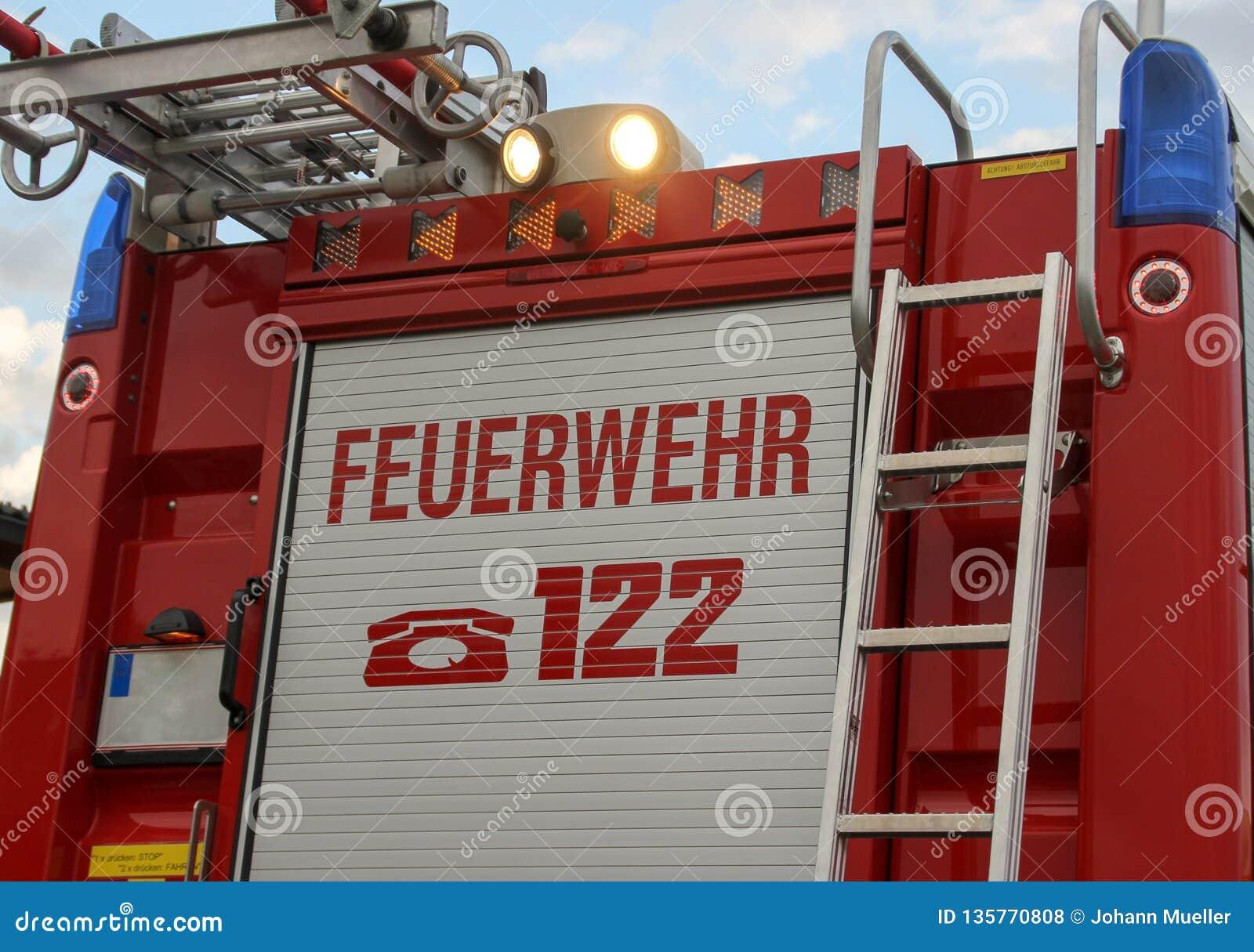 Feuerwehr, Warnzeichen
