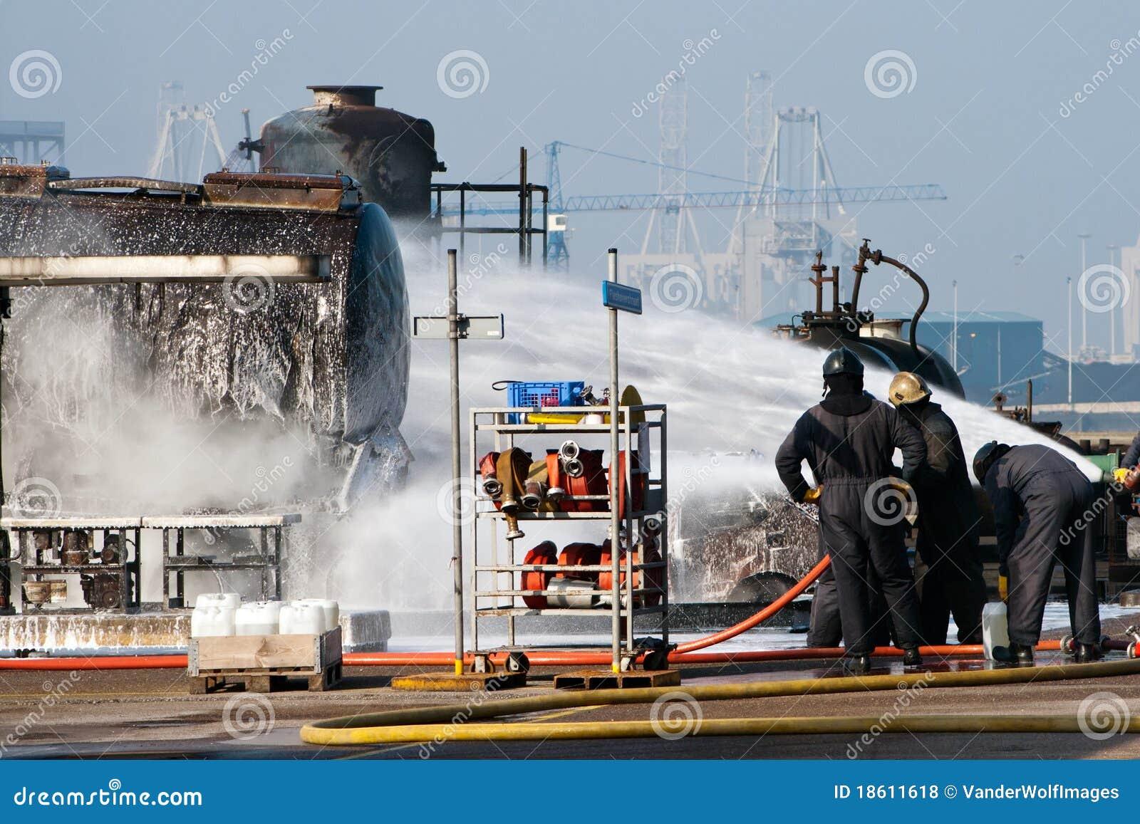 Feuerwehrmannübung