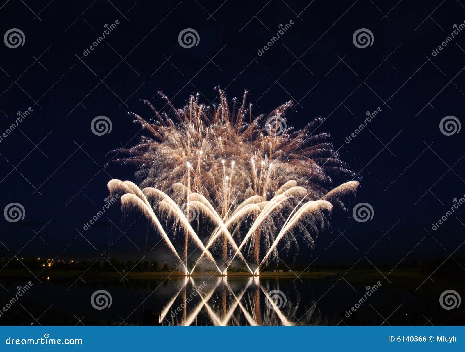 Feuerwerk-Konkurrenz 2008