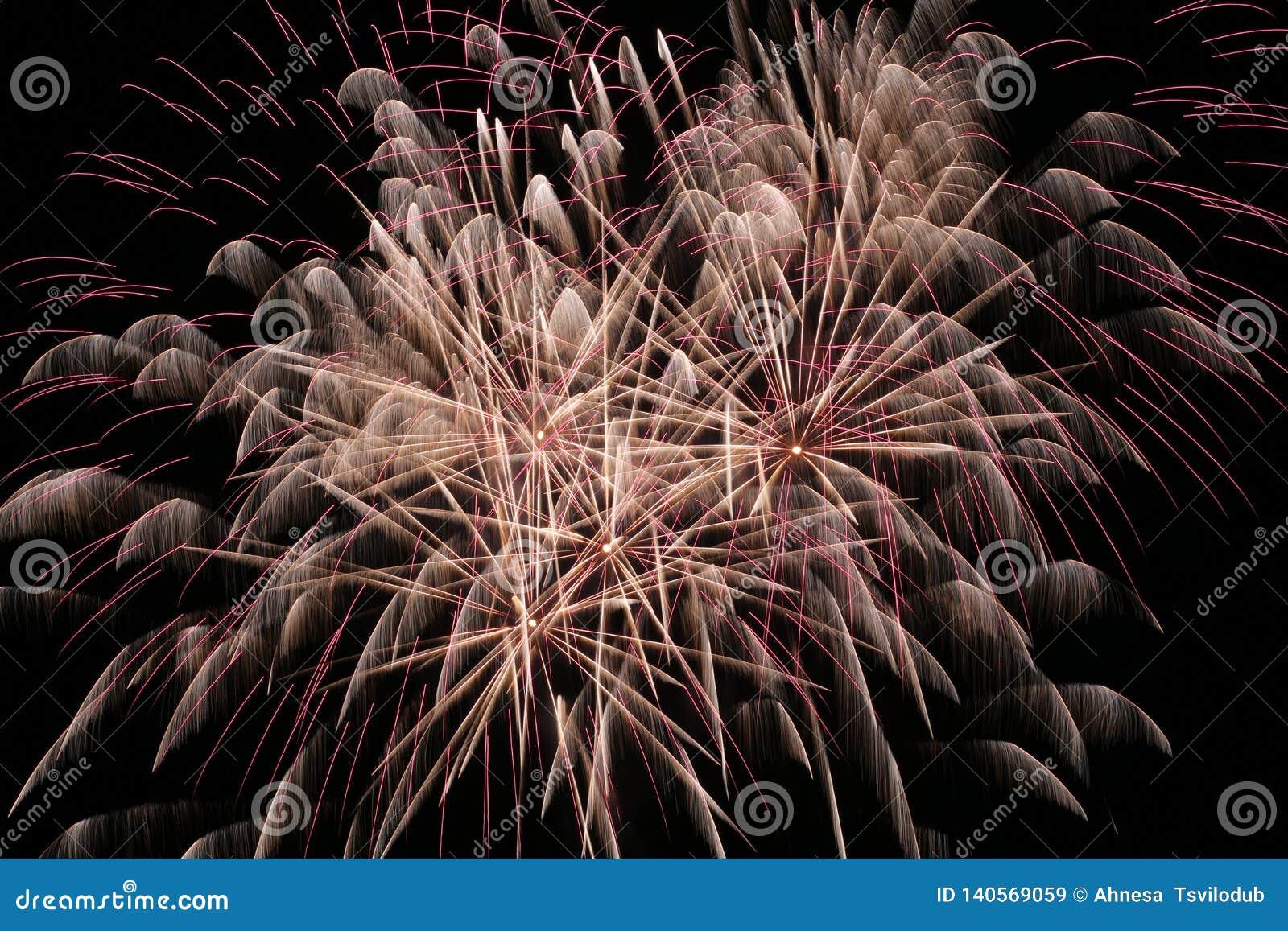 Feuerwerke im Himmel