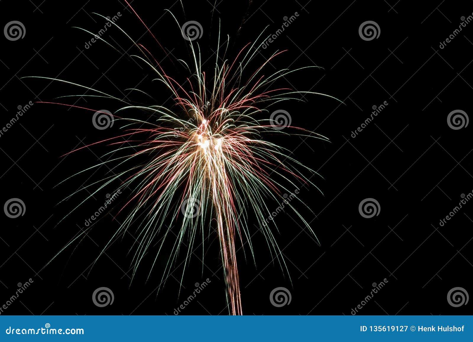 Feuerwerke im niederländischen Jahr 2018/2019