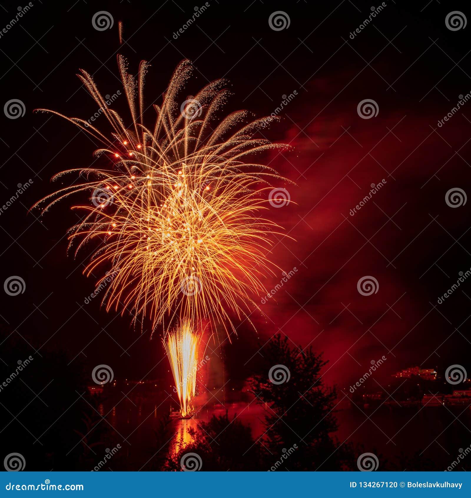 Feuerwerks-Festival Ignis Brunensis 2018