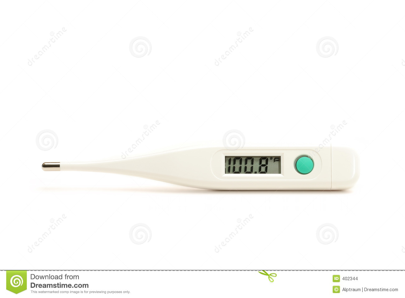 Fever Thermometer Stock Images