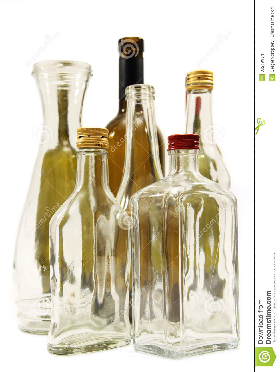 Bottles for wine and spirits stock images image 30219984 for Where to buy colored wine bottles