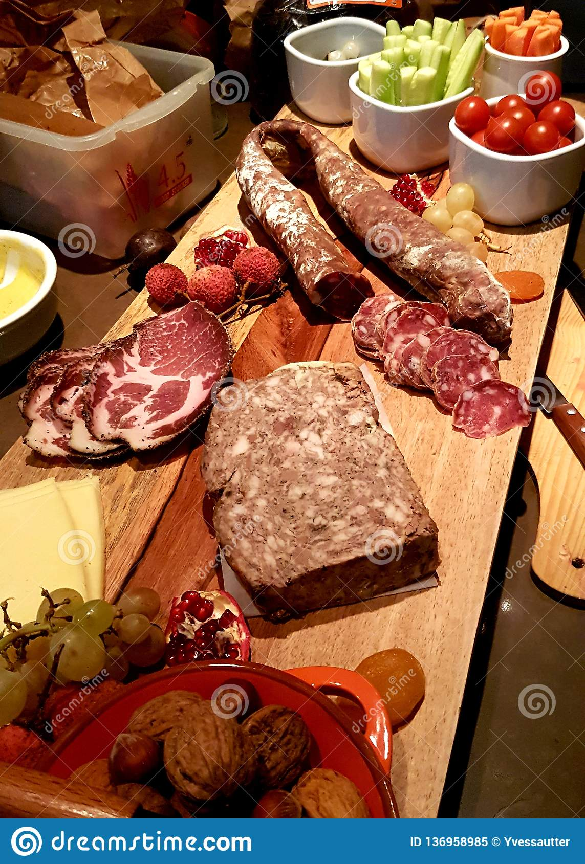 A nice coldcut platter selection from Toulouse, France