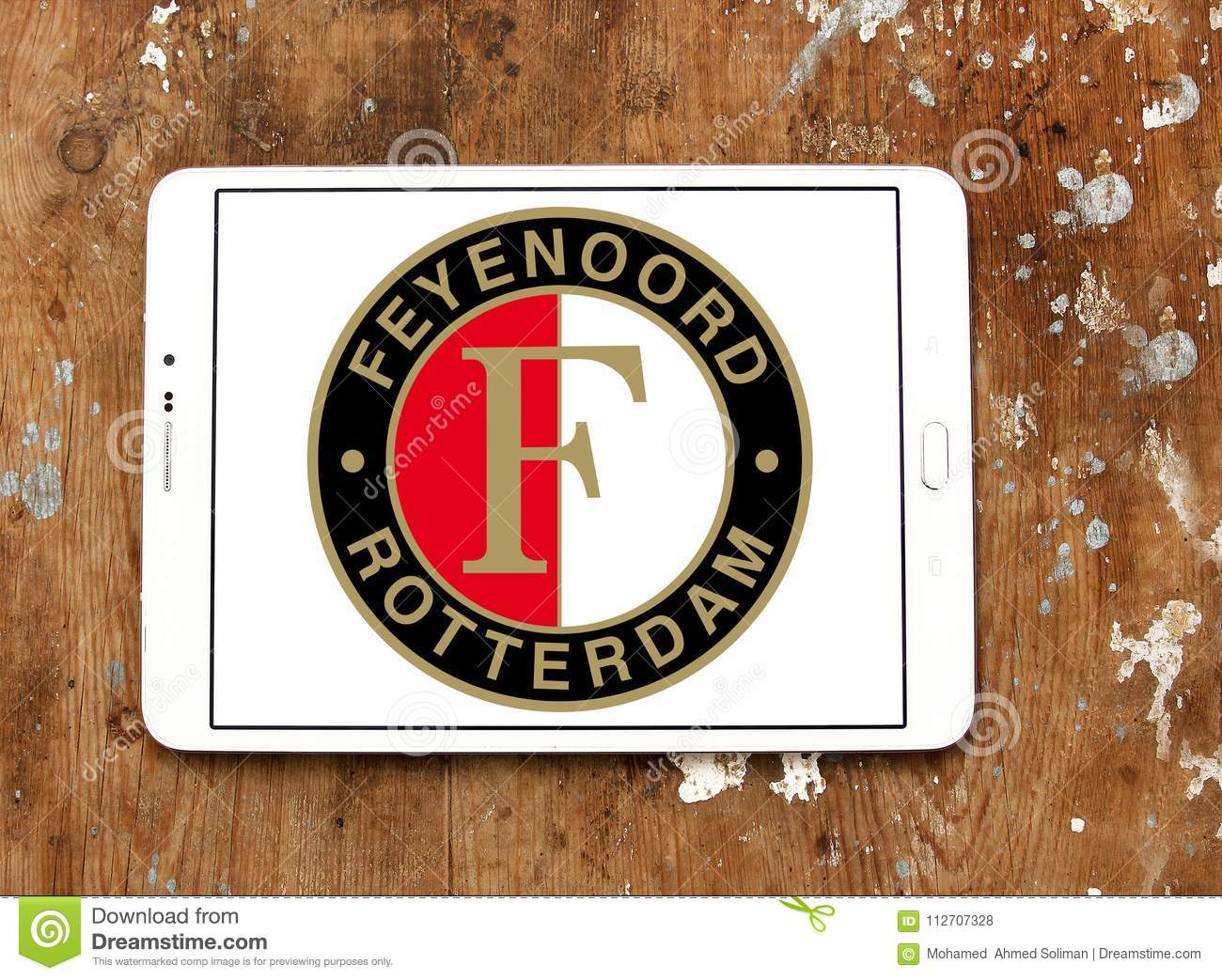 Feyenoord Rotterdam Football Club Logo Editorial Stock Photo Image Of Logo Editorial 112707328