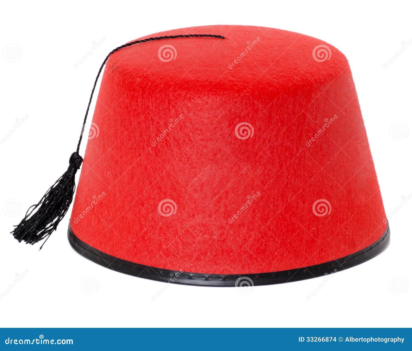 Fez turkse hoed stock afbeeldingen afbeelding 33266874 - Pouf eigentijds ontwerp ...