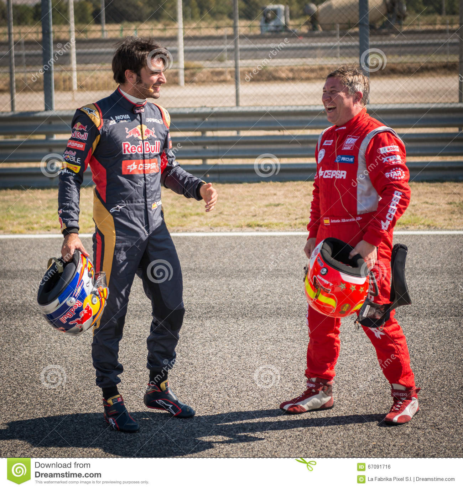 Albacete Circuit : 2015 fia european truck racing championship. carlos sainz and an