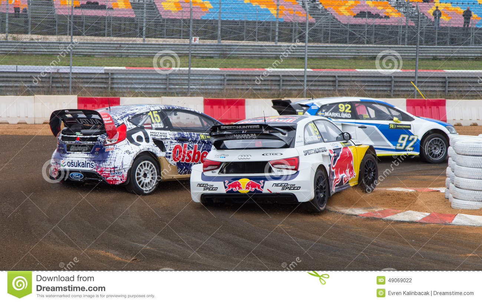FIA World Rallycross Championship Editorial Photography - Image of ...