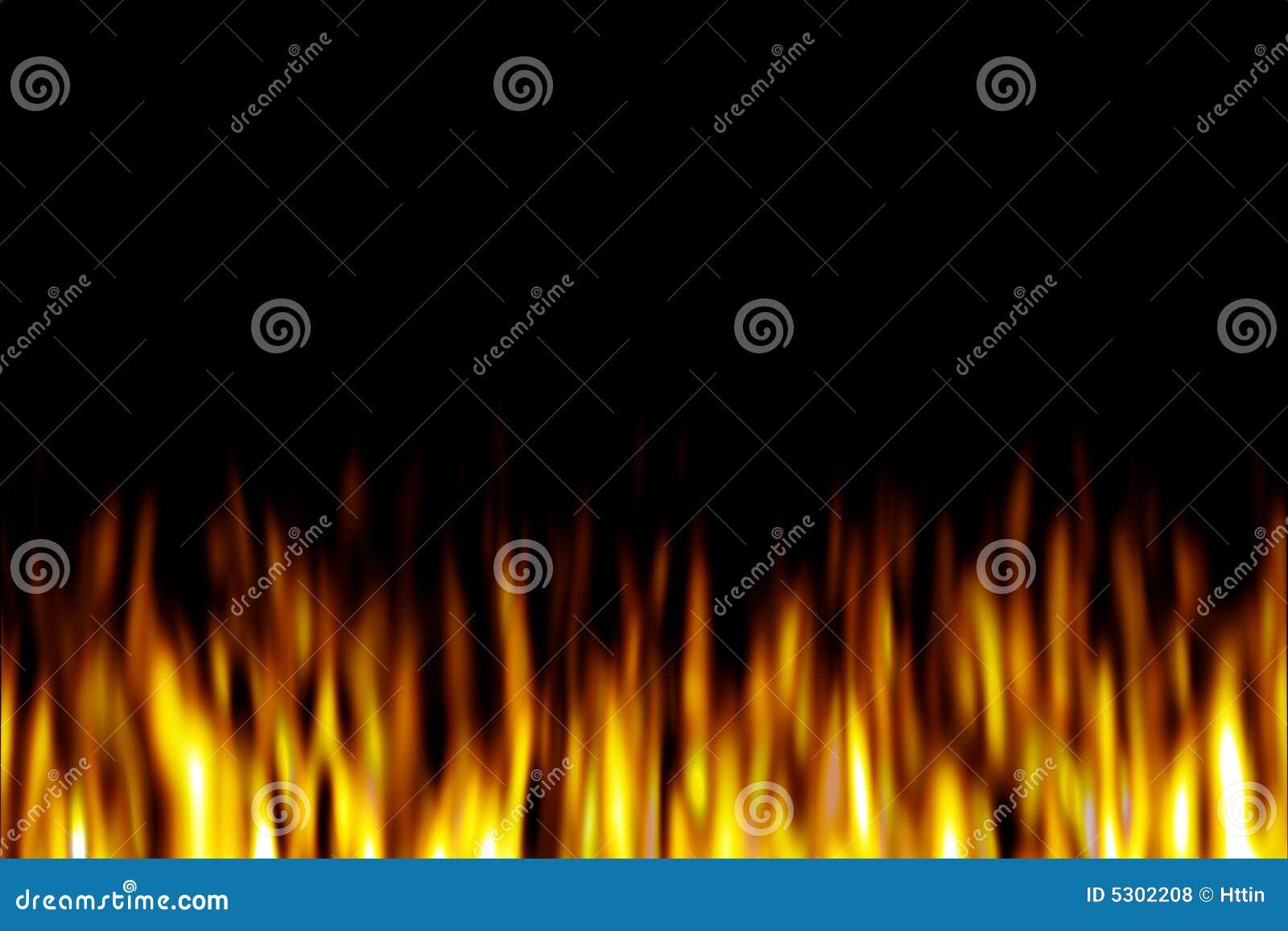 Download Fiamma del fuoco illustrazione di stock. Illustrazione di gruppo - 5302208