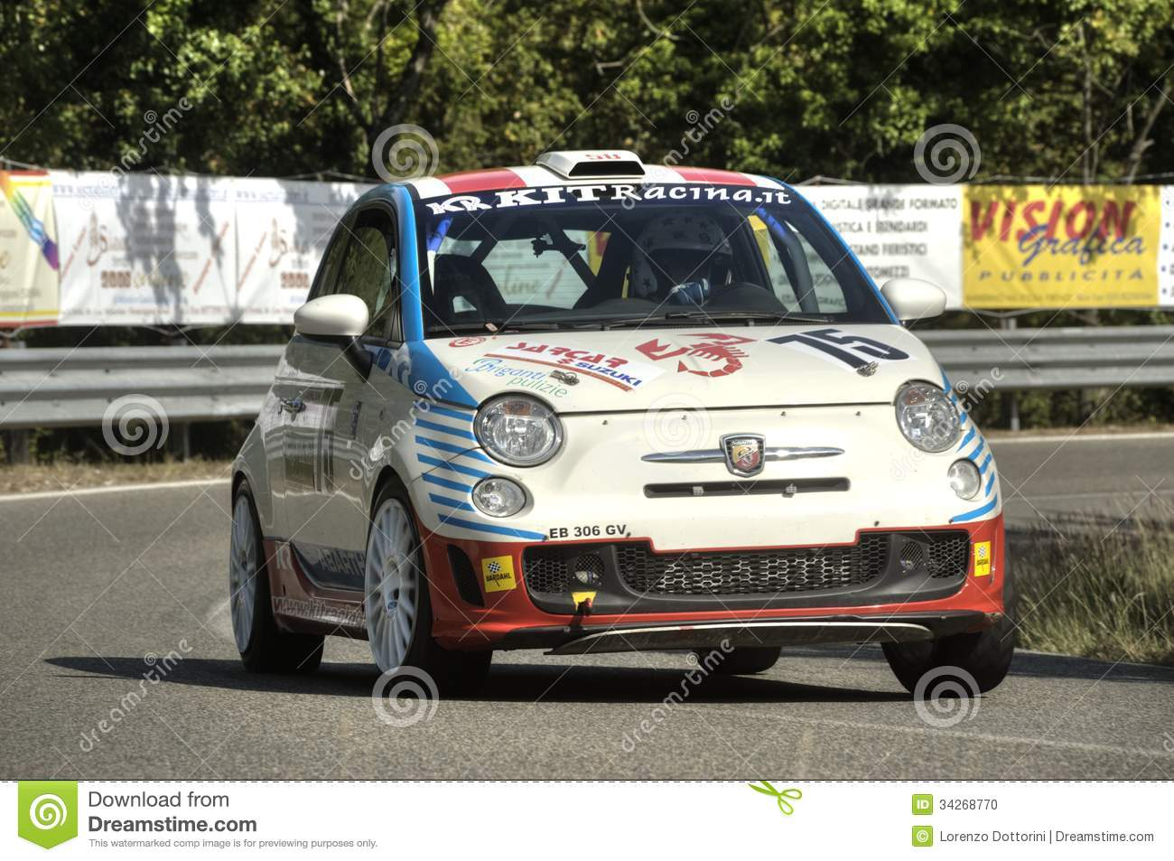 Fiat 500 Abarth Editorial Image Image Of Model Automotive 34268770